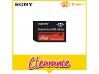Sony 4GB Memory Stick PRO-HG Duo (MS-HX4G)