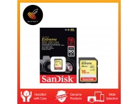 SanDisk Extreme SD Memory Card 16GB 90MB/s Class 10 UHS-I U3 SDHC