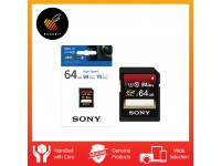 Sony SD Card 64GB 94mb/s Ultra High Speed Class 10 SDHC UHS-I SF-64UX2