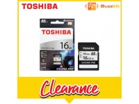 Toshiba 16GB 95MB/s EXCERIA PRO N401 SDHC UHS-I Card (THN-N401S0160A4)