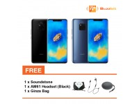Huawei Mate 20 + Soundstone + AM61 Headset (Black) + Ginza Bag