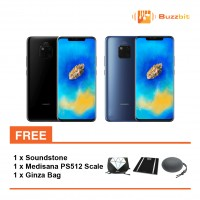 Huawei Mate 20 + Soundstone + Medisana PS512 Weighing Scale + Ginza Bag