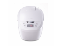 Sharp Digital Rice Cooker 1.8L KSE185WH (White)