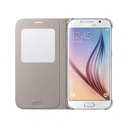(Genuine) Samsung Galaxy S6 Cases (S View Leather / Back Case )