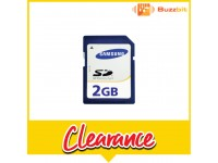 Samsung 2GB SD Card