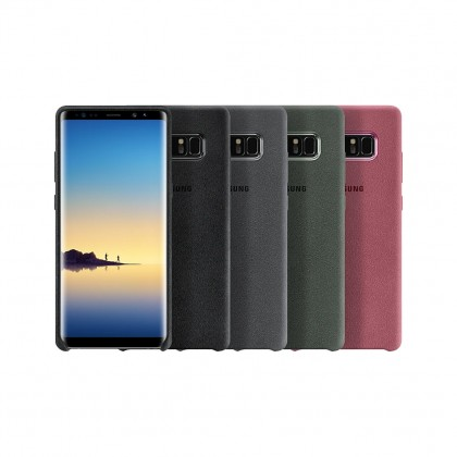 Samsung Note 8 Alcantara Cover (Black)