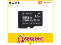SONY 32GB MICRO SD + ADPATER 95MB/S C10 (SR-32UXA)
