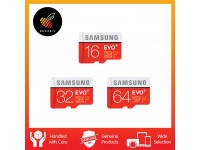 Samsung EVO Plus 16GB  32GB  64GB  100MB/s Class 10 Micro SD with Adapter