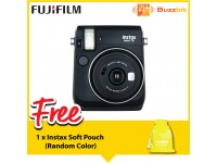 Fujifilm Instax Mini 70 Instant Camera White/ Blue/ Yellow/ Red/ Gold/ Black + Pouch