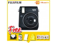Fujifilm Instax Mini 70 Instant Camera White/ Blue/ Yellow/ Red/ Gold/ Black + Bag & Film