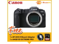 Canon EOS RP (Body) + Sandisk 64GB SDXC Card + EF-EOS R Mount Adapter