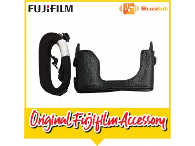Fujifilm Original Leather Half Case For X-A2(Compatible With X-M1,X-A3,X-A5 and X-A10)