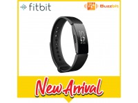 Fitbit Inspire Fitness Watch (Black/Sangria)