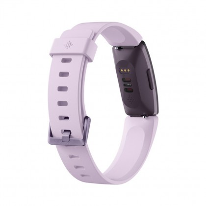 Fitbit Inspire W/HR Fitness Watch (Lilac/White Black)