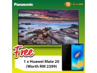 "Panasonic 49"" 4K Ultra HD Smart TV TH-49FX600K + Huawei Mate 20"