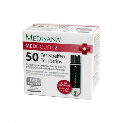 Medisana MediTouch 2 Test Strips 50 pieces