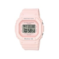 Casio Baby-G BGD-560-4 Pink Resin Band Digital Watch (Test)