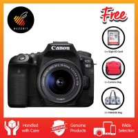 Canon EOS 90D Kit (EF-S 18-55 IS STM ) With 32GB SDHC Card & Camera Bag