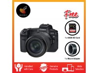 Canon EOS R (RF24-105mm f/4-7.1 IS STM) + 64GB Extreme Pro SD Card + Mount Adapter EF-EOS R