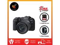 Canon EOS RP (RF24-105 STM) + Sandisk 64GB SDXC Card + EF-EOS R Mount Adapter