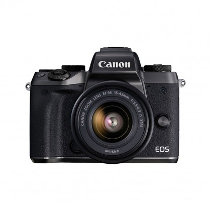 Canon EOS M5 Mirrorless Camera with 15-45mm Lens + 16GB + Bag