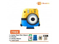 Fujifilm Instax Mini 8 Minion Instant Film Camera [Bundle Package]