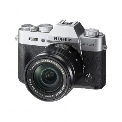 Fujifilm X-T20 Mirrorless Digital Camera with 16-50mm and 50-230mm Lenses