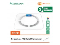 Medisana BS430 Body Analysis Scale Connect + Medisana FTC Digital Thermometer