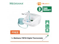 Medisana IN500 Inhalator Nebulizer + Medisana TM700 Digital Thermometer