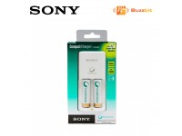 Sony BCG-34HS2KN Compact Charger Kit + 2 AA Batteries (2100mAh)