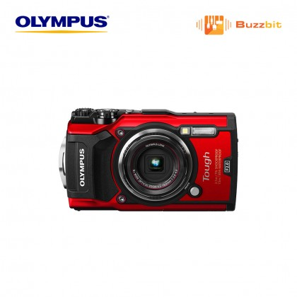 Olympus TG-5 Underwater Digital Camera (Black/Red)