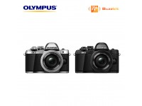 Olympus OM-D E-M10 Mark II Mirrorless Camera with 14-42mm II R Lens (Black)
