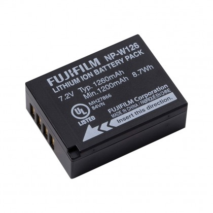 Fujifilm NP-W126 NPW126 Li-ion Rechargeable Battery Pack (Original)