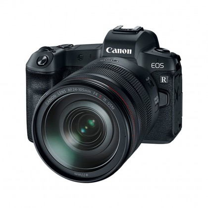 Canon EOS R (RF 24-105mm F4L IS USM) + 64GB Extreme Pro SD Card + Mount Adapter EF-EOS R