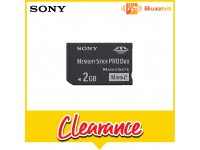 Sony 2GB Memory Stick PRO-Duo MARK2 (MS-MT2G)
